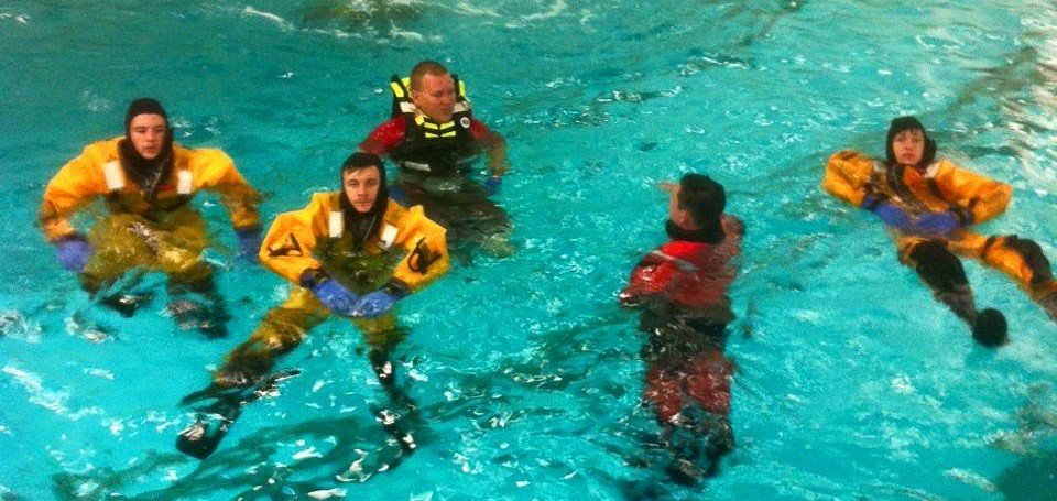 Company 40 Participates in Water Rescue Training